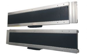 PAIR OF ALUMINIUM RAMPS